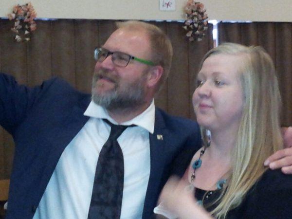 SKP:n puheenjohtajana jatkaa J-P Väisänen, uudeksi pääsihteeriksi valittiin tamperelainen postityöntekijä 32 vuotias Petra Packalén.